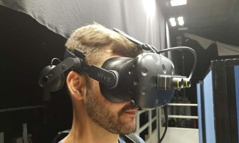 Modern virtual and augmented reality device can help simulate sight loss