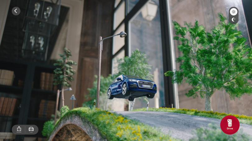 Audi AR App Brings Advertising Into Your Living Room