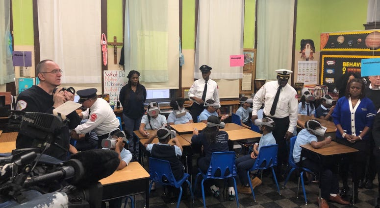 CFD Launches Virtual Reality Fire Safety Program For Youth